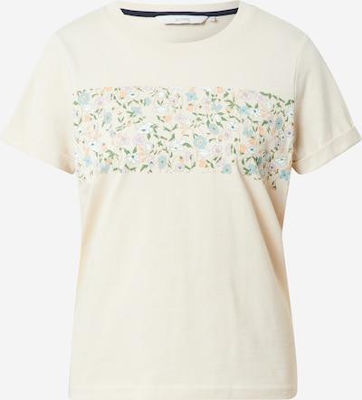 NÜMPH Shirt 'Nucizzy' in de kleur Beige / Lichtblauw / Groen / Rosa, Productweergave