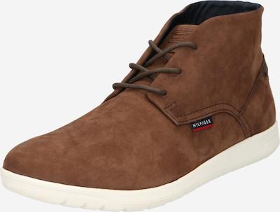 TOMMY HILFIGER Boots in navy / braun / rot / weiß, Produktansicht
