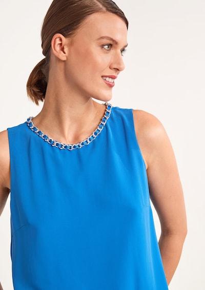 COMMA Bluse in blau, Modelansicht