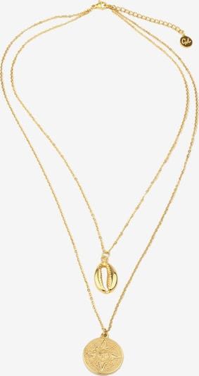 GOOD.designs Kette  'Muschel' in gold, Produktansicht