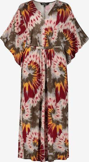 Ulla Popken Kleid in mischfarben / rubinrot, Produktansicht