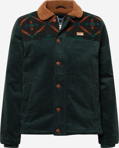Iriedaily Jacke in braun / dunkelgrün, Produktansicht