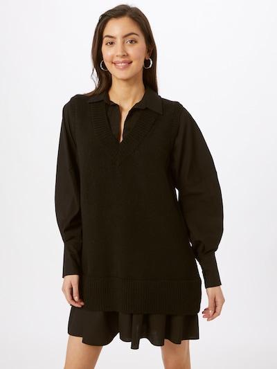 River Island Kleid 'Poplin' in schwarz, Modelansicht