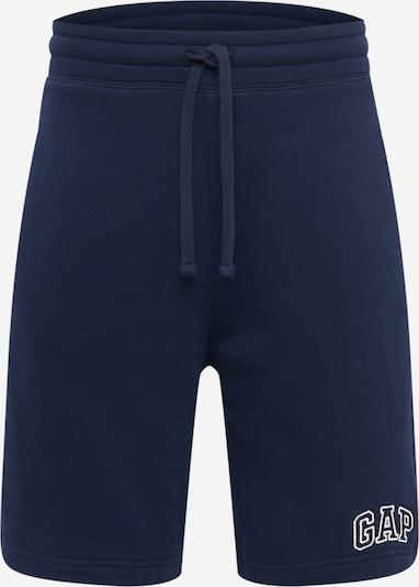 GAP Pantalon en bleu marine / blanc, Vue avec produit