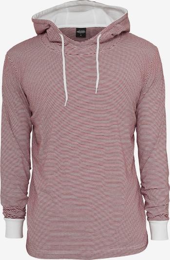Urban Classics Shirt in de kleur Rood / Wit, Productweergave