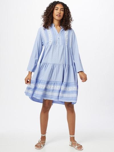 ZABAIONE Shirt Dress 'Eliza' in Light blue / White, View model