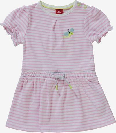 s.Oliver Kleid in gelb / pink / weiß, Produktansicht