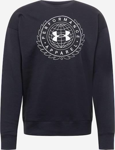 UNDER ARMOUR Sportska sweater majica 'RIVAL' u crna / bijela, Pregled proizvoda