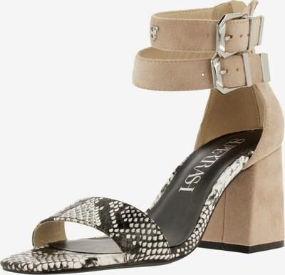 Supertrash Sandale in nude / grau / weiß, Produktansicht