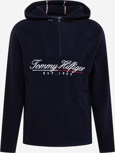TOMMY HILFIGER Pulover u noćno plava / crvena / bijela, Pregled proizvoda