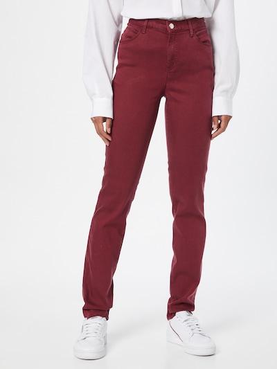 BRAX Jeans 'SHAKIRA' in burgunder, Modelansicht