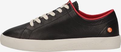 Softinos Sneaker in schwarz, Produktansicht
