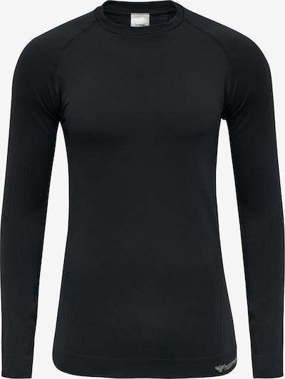 Hummel Functioneel shirt in de kleur Zwart / Wit, Productweergave