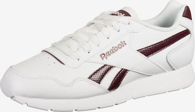 REEBOK Chaussure de sport 'Royal Glide ' en violet / blanc: Vue de face