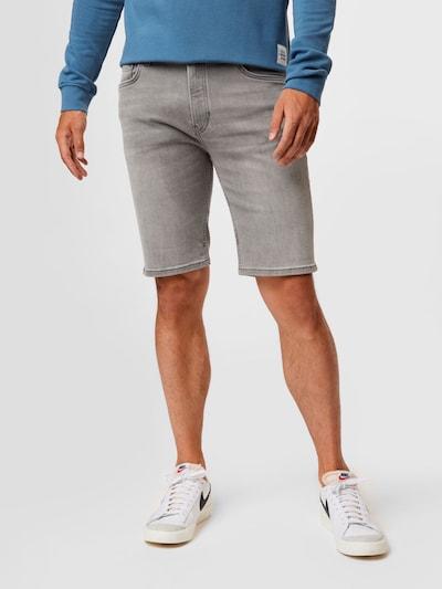 Marc O'Polo DENIM Jeans i grå denim, På modell