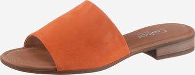 GABOR Pantolette in orange, Produktansicht
