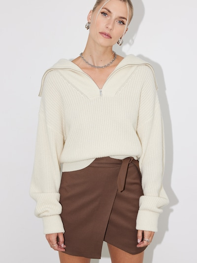 LeGer by Lena Gercke Sweater 'Janine' in Cream: Frontal view