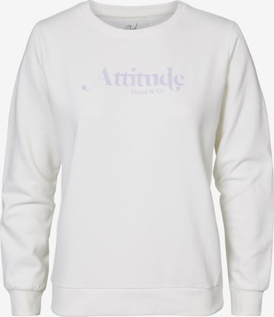 Petrol Industries Sweatshirt in de kleur Crème, Productweergave