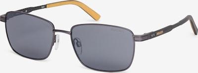 DUCATI Eyewear Zonnebril in de kleur Donkergrijs / Zwart / Zilver, Productweergave