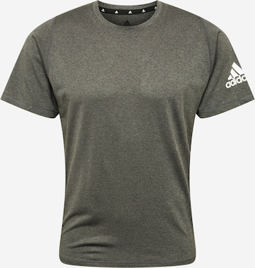pelēks ADIDAS PERFORMANCE Sporta krekls 'M FRL ULT HT T'