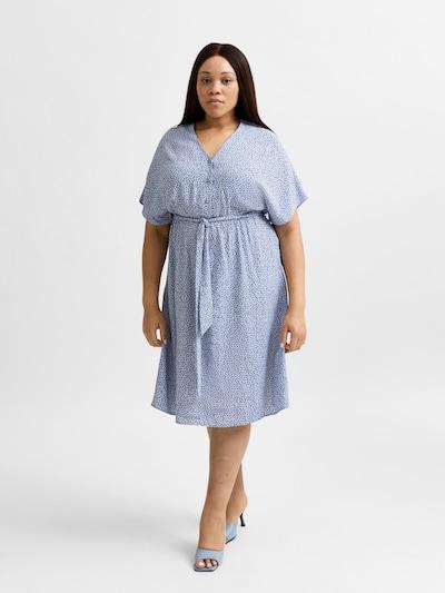 SELECTED FEMME Kleid 'SLFENNA' in blau / hellblau, Modelansicht