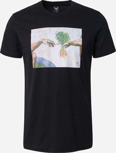 Iriedaily T-shirt 'Holy Carrots' i blandade färger / svart, Produktvy