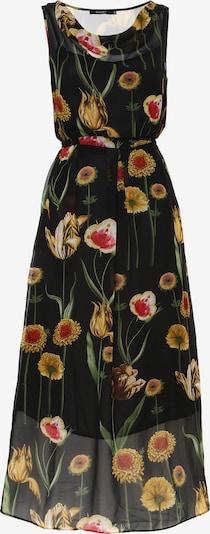 Madam-T Kleid 'Zakia' in mischfarben / schwarz, Produktansicht