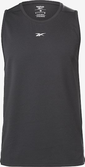 REEBOK Top in schwarz / weiß, Produktansicht