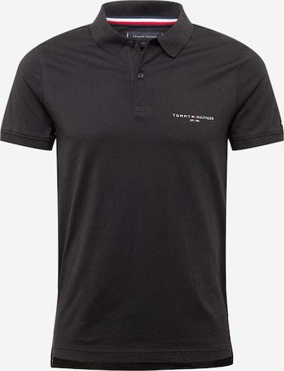 TOMMY HILFIGER T-shirt en bleu marine / rouge sang / noir / blanc, Vue avec produit