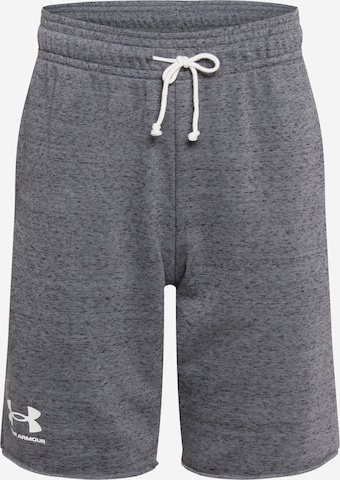 UNDER ARMOUR Sporthose 'Rival' in Grau