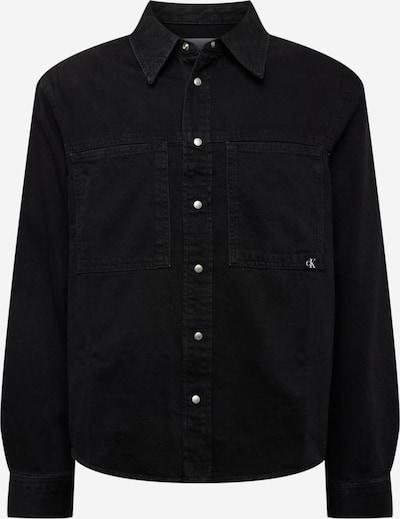 Calvin Klein Jeans Hemd in black denim, Produktansicht
