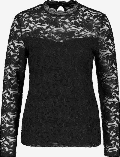 TAIFUN Spitzenshirt in schwarz, Produktansicht