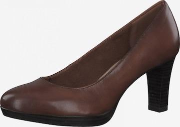 TAMARIS - Zapatos con plataforma en marrón