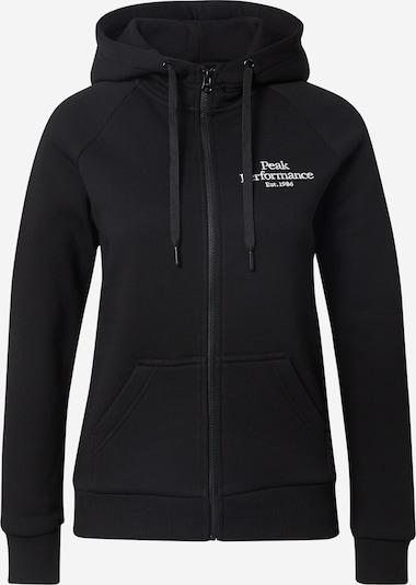 fekete / fehér PEAK PERFORMANCE Sport szabadidős dzsekik, Termék nézet
