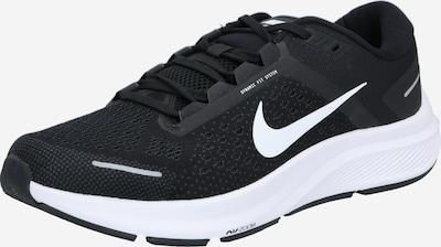 NIKE Běžecká obuv 'Zoom Structure 23' - černá / bílá, Produkt