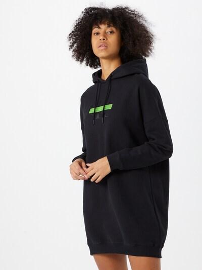 Calvin Klein Jeans Kleid in neongrün / schwarz, Modelansicht