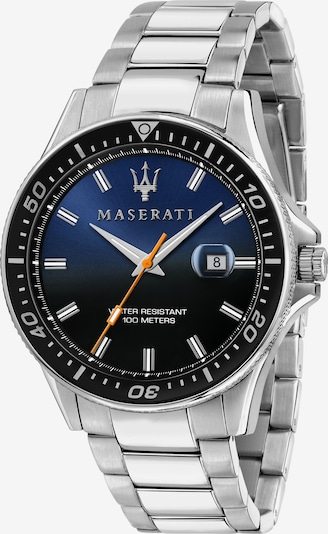Maserati Uhr 'SFIDA 44MM' in silber, Produktansicht