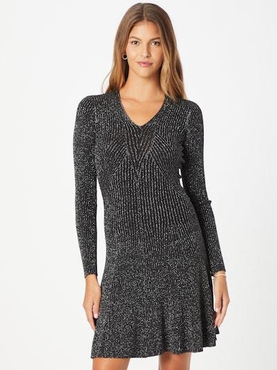 Rochie tricotat 'Roxy' STEFFEN SCHRAUT pe negru / argintiu, Vizualizare model