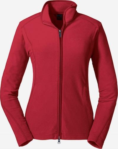 Schöffel Functionele fleece jas 'Leona2' in de kleur Kersrood, Productweergave