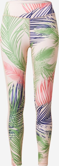 DELICATELOVE Sports trousers 'Nadi' in marine blue / Grass green / Pink / Pastel pink, Item view