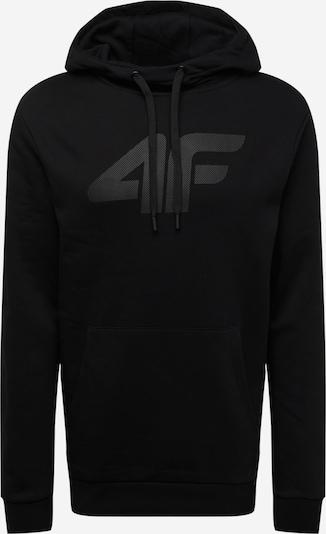 4F Sportsweatshirt in schwarz, Produktansicht