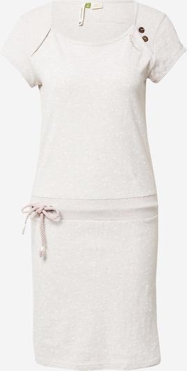 Ragwear Лятна рокла 'Mike' в телесен цвят / бяло, Преглед на продукта