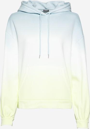 GAP Sweatshirt 'BALLOON' in hellblau / pastellgelb / weiß, Produktansicht