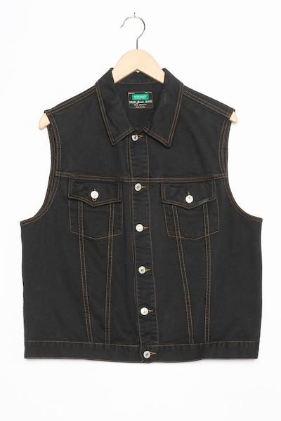 UNITED COLORS OF BENETTON Jeansweste in M in black denim, Produktansicht