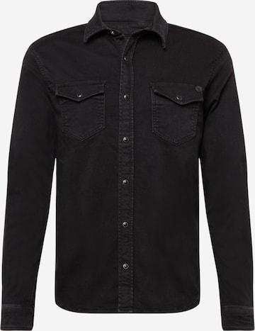 Pepe Jeans Hemd 'NEW JEPSON' in Schwarz