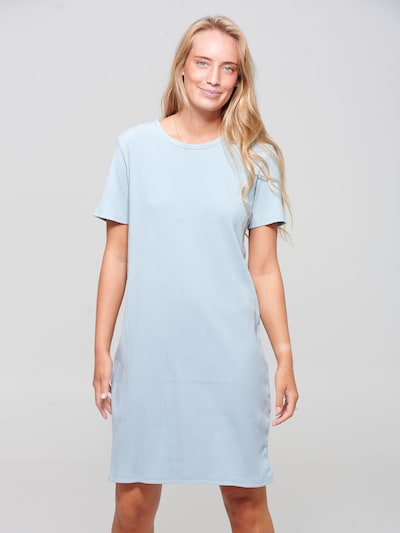 Noella Kleid in hellblau, Modelansicht