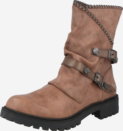 Blowfish Malibu Ankle Boots 'RAMAYA' in Taupe / Muddy colored / Dark grey, Item view
