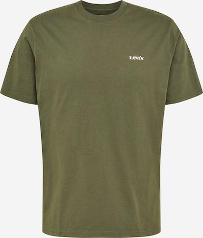 LEVI'S Majica u kaki / bijela, Pregled proizvoda