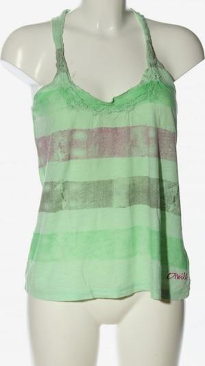 O'NEILL Muskelshirt in XS in hellgrau / grün / pink, Produktansicht