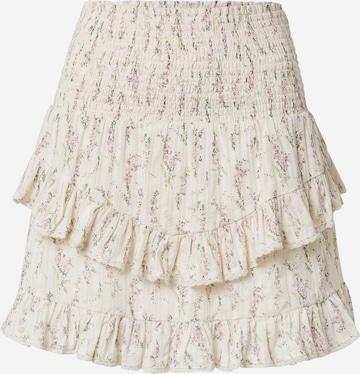 Neo Noir Skirt in White